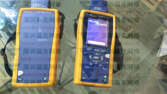 新到一台六成新DTX-1800网线验收测试仪,2016年校准