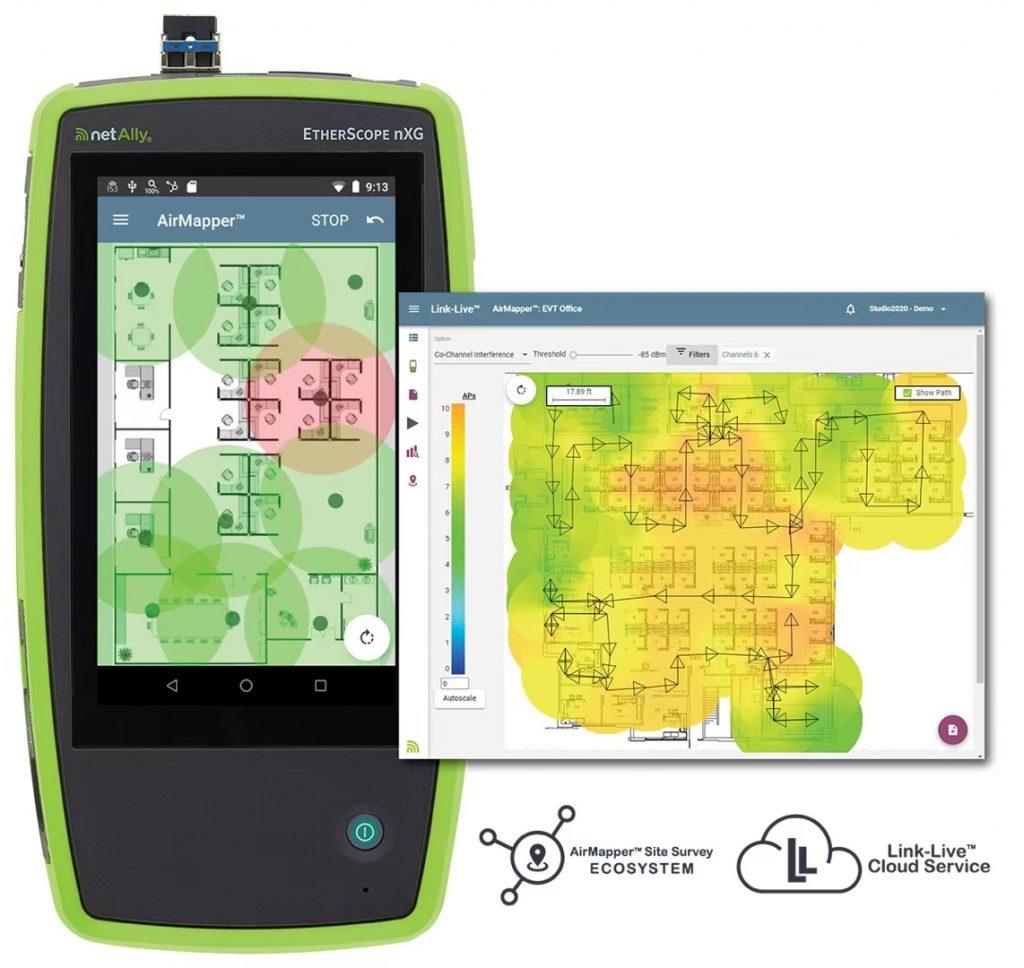 NetScout/NetAlly AirCheck G2无线网络测试仪 5.1 版固件发布