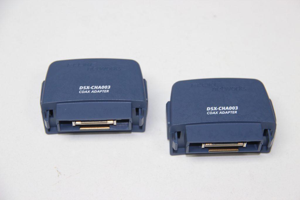 Fluke DSX-CHA003为DSX-8000CH和DSX2-8000CH添加测试同轴电缆功能